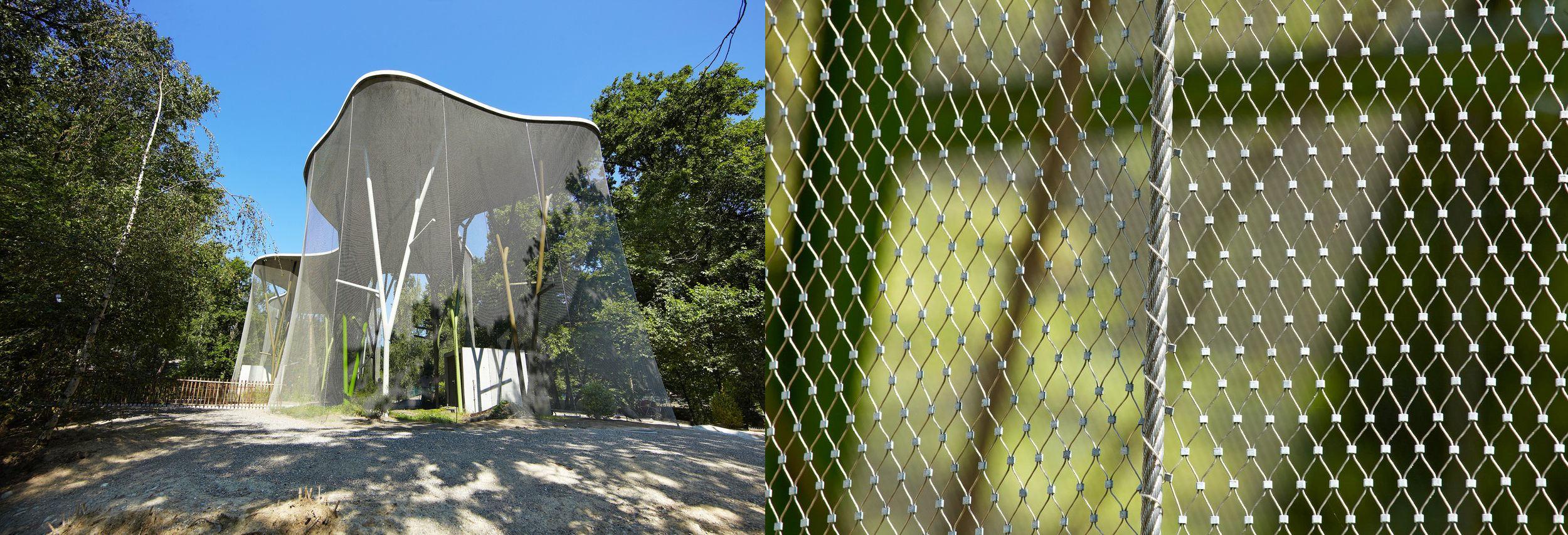 Aviary Mesh Enclosure Jakob Webnet
