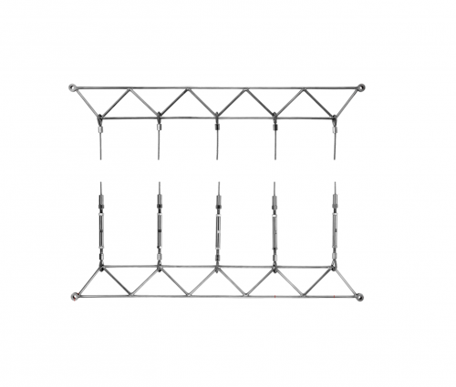 Steel trellis system Greenguide Trellis Works with Swaged Loops Kit 1