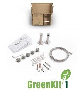 Jakob GreenKit 1 Stainless Steel Garden Trellis Kit