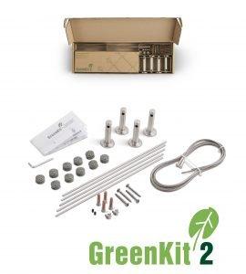 Jakob GreenKit 2 Stainless Steel Garden Trellis Kits