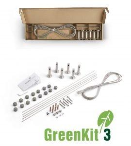 Jakob GreenKit 3 Stainless Steel Garden Trellis Kit