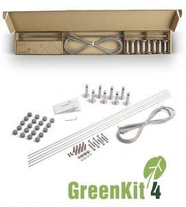Jakob GreenKit 4 Stainless Steel Garden Trellis Kits
