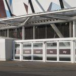 Jakob Webnet Safety Frames at London Stadium