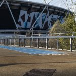 Jakob Webnet Wire Mesh Balustrade at Olympic Park
