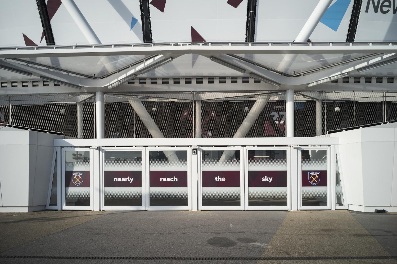 London Stadium Jakob Webnet Safety Frames