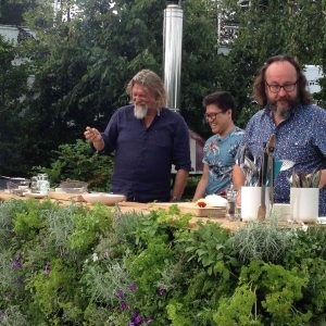 Jakob Goes Live at Hampton Court on Saturday Kitchen