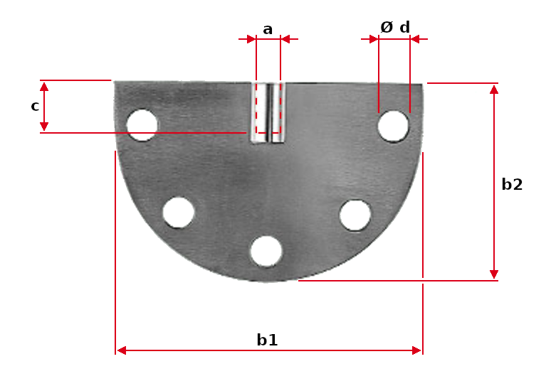 Radial Clevis Holder with Internal Thread