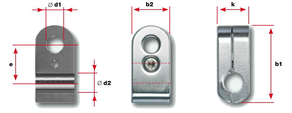 Rod Holder Dimensions