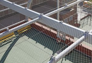 Rooftop Safety Netting with Jakob Webnet Wire Mesh