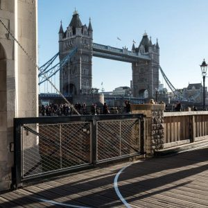 The Tower of London - Webnet Raven Enclosure & Balustrade Infill