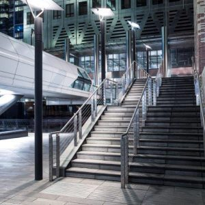 7km of Wire Ropes for New Canary Wharf Station