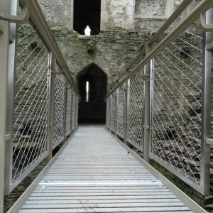 Webnet Frames at Kidwelly Castle