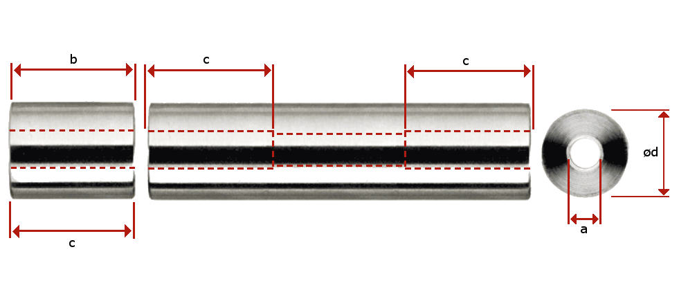 Standoff with Internal Thread Measurements