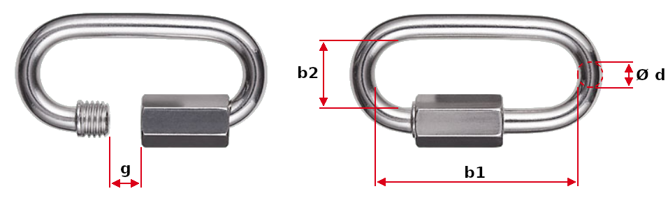 Threaded Chain Connection